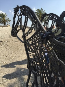 Iron horses on Mount Megiddo
