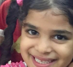 An Egyptian little girl