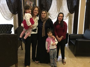 These two women and two children have gone through a year and a half of unbelievable horror, but today they are free from ISIS. Now the challenge is to help them start a new life.