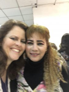 One of the women who attended our conference in Iraq recently, a refugee, expressed appreciation for our ministry to her and the other women