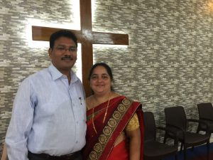 Rev. Himmat and Mercy Mohod, Director of the Children's Home. We thank the Lord for their loving hard work and care for the children.