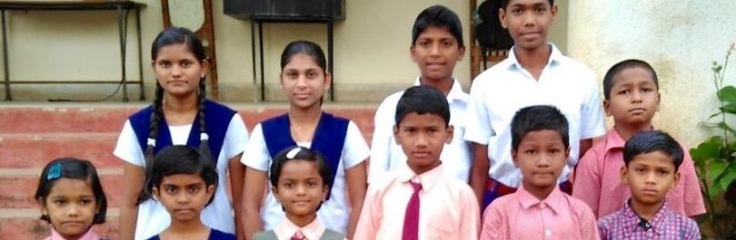 Eleven of our orphans in the Children's Home, India. Thank you for praying for these children