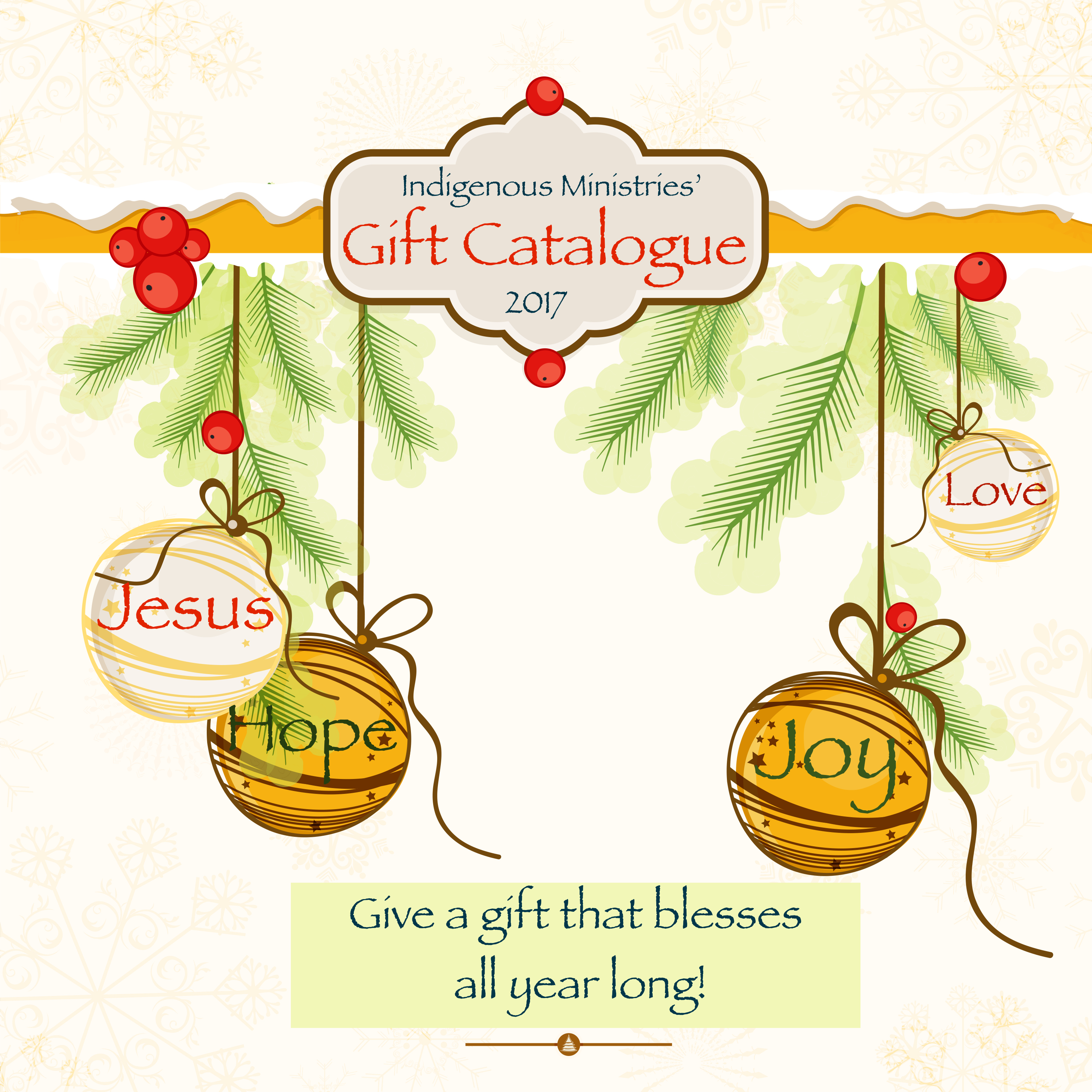 Christmas Gift Catalog - Indigenous Ministries