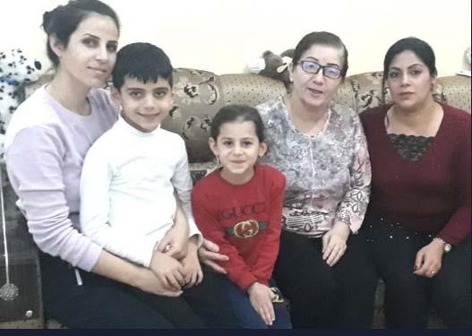 refugee family in Kurdistan Fund