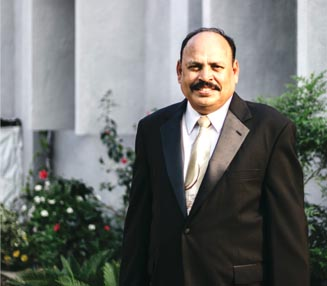 Grace Bible College's Principal Dr. Pramod